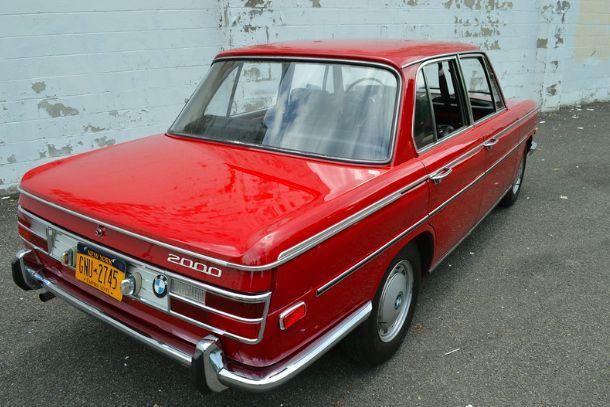 1970 Bmw 2000 Neue Klasse 4 Door Sedan In Grenada Red Classic Bmw 2002 1970 For Sale