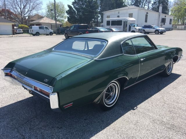 1970 Buick Gs 350 1 Owner Unrestored Fully Documented True Garage Find Classic