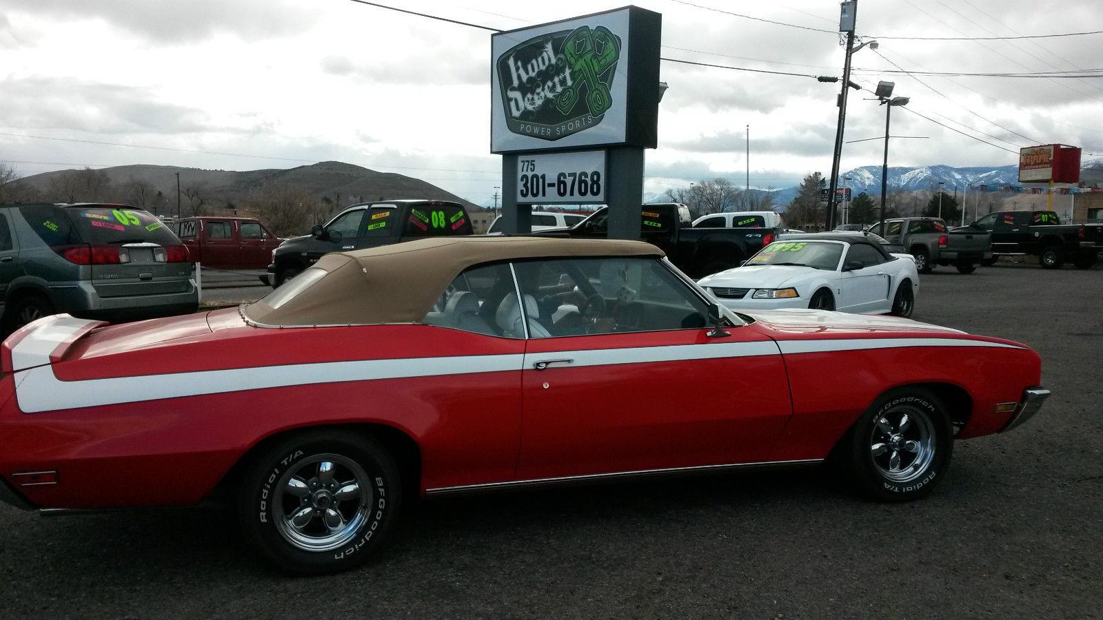 1970 Buick Skylark Custom 2 Dr Convertible Gs350 Classic