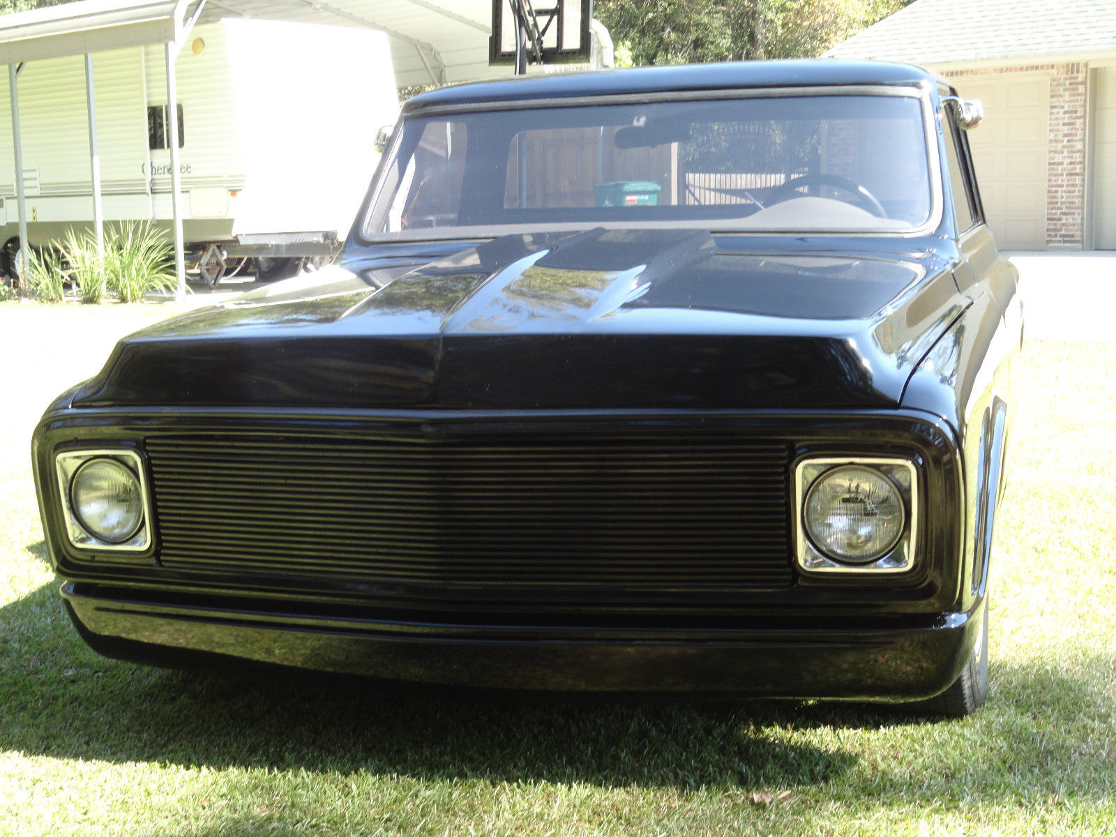 1970 c10 street rod fast loud stepside chevrolet truck hot. Black Bedroom Furniture Sets. Home Design Ideas