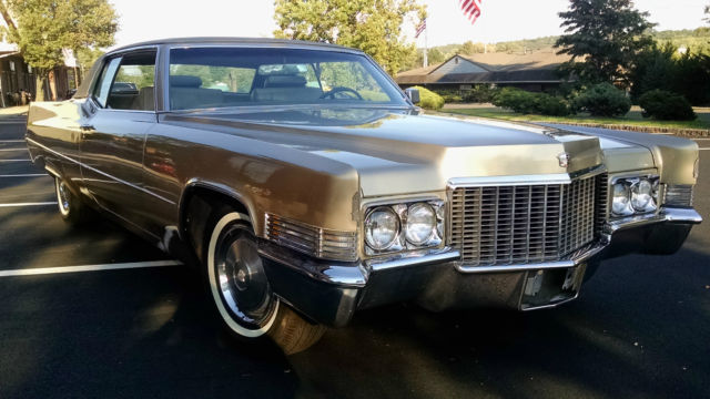 1970 Cadillac Coupe Deville 35 000 Miles And A Factory