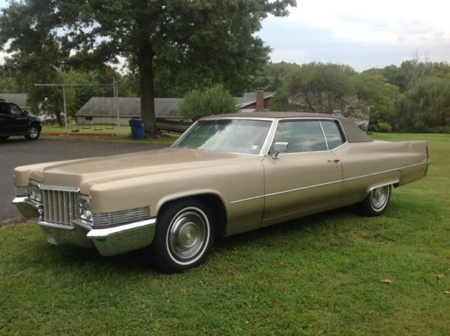 Cadillac Coupe Deville Gold Color on 1973 Cadillac Fleetwood Engine
