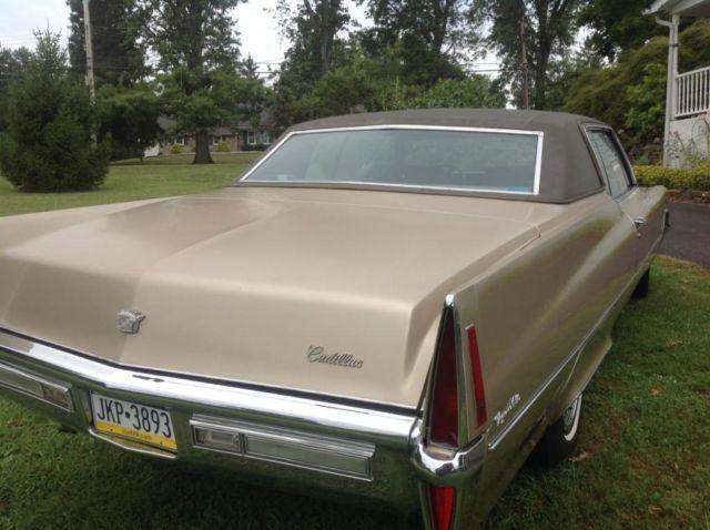 Cadillac Coupe Deville Gold Color