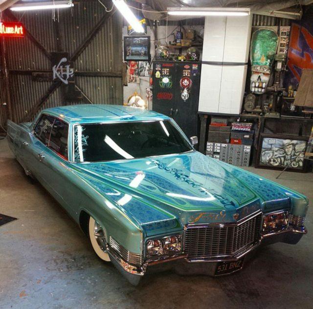 1970 Cadillac Deville Custom Air Bagged Custom Paint ONE