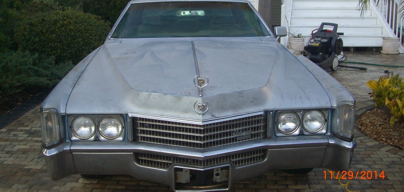 1970 cadillac eldorado 500 cubic inch 8 2 liter engine family owned since 1974 classic. Black Bedroom Furniture Sets. Home Design Ideas