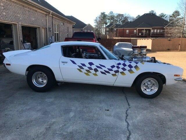 1970 Camaro R  S Blown Pro Street Drag Car