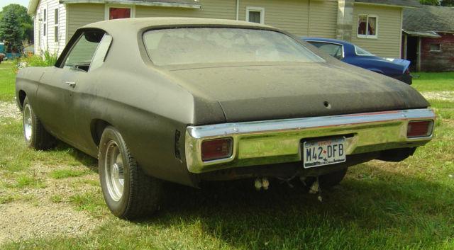 1970 Chevelle Project Car Classic Chevrolet Chevelle 1970 For Sale