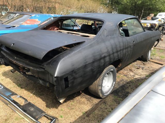 1970 chevelle ss dash project car rolls steers needs resto new 1 4s buckets nr classic. Black Bedroom Furniture Sets. Home Design Ideas