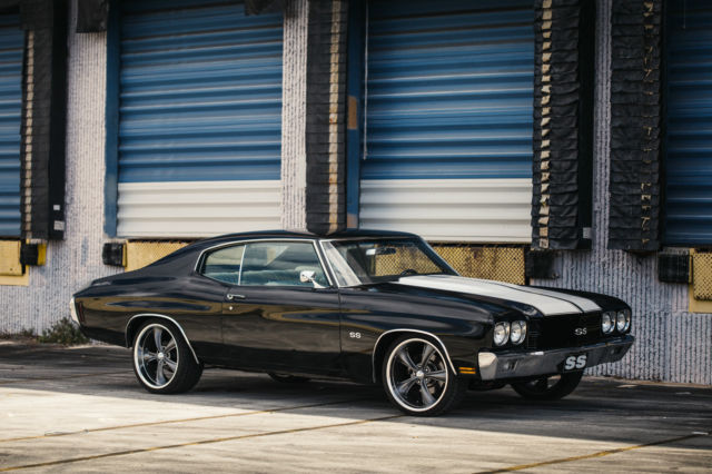 Chevelle Ss Tribute Pro Touring Custom Ac Upgraded Hot Rod Muscle Car