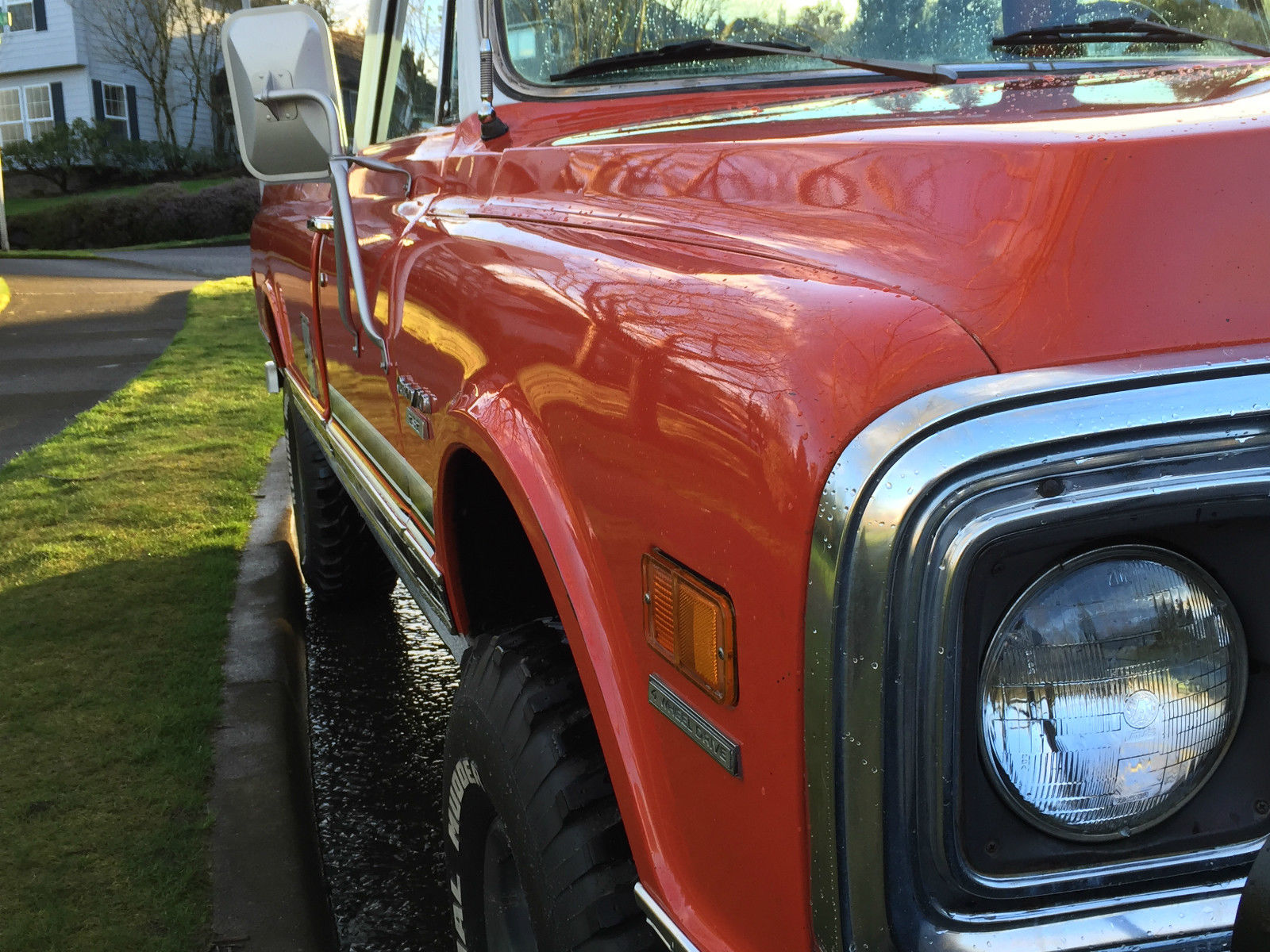 Chevrolet C X Pickup Dr Reg Cab L Engine K Original Miles Owner on Custom 1970 Chevy Pickup Truck