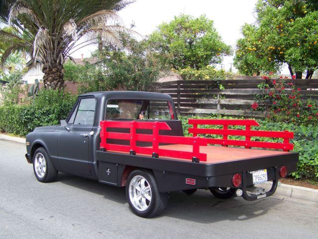 Chevy Truck Custom Paint Hood