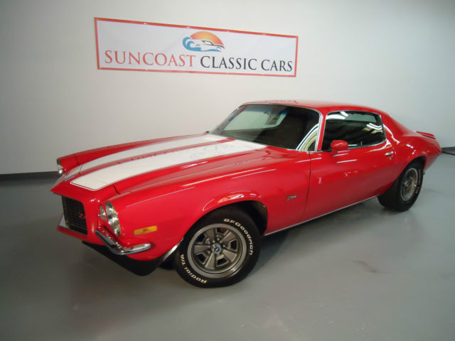 1970 Chevrolet Camaro Z28 Rs 4 Speed Classic Chevrolet Camaro 1970 For Sale