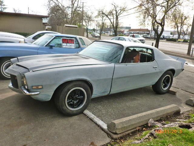 1970 Chevrolet Camaro Z28 RS? Split Bumper Cali Car 4 Speed Project