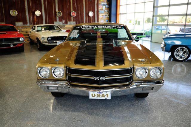 1970 chevrolet chevelle ss ls5 rotisserie restoration best for Classic 405 motors mustang ok