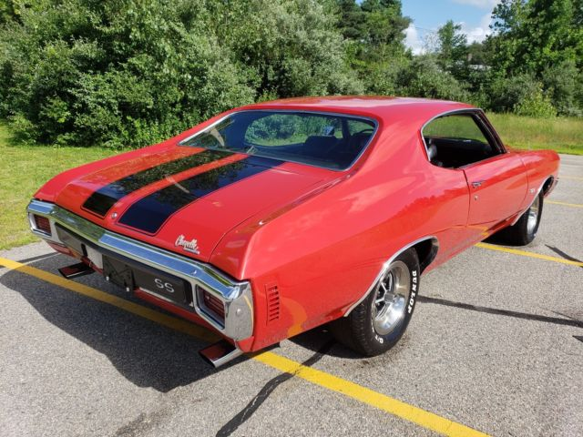 1970 CHEVROLET CHEVELLE SS LS6 454/45OHP CRV ENGINE CODE WITH A M-22