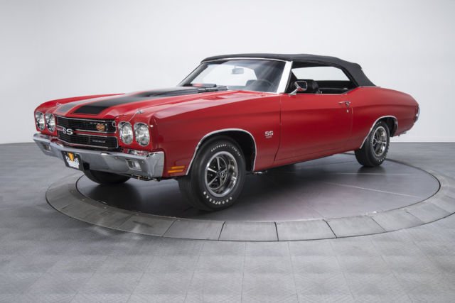 1970 chevrolet chevelle super sport 851 miles cranberry red convertible 454 ls6 classic. Black Bedroom Furniture Sets. Home Design Ideas