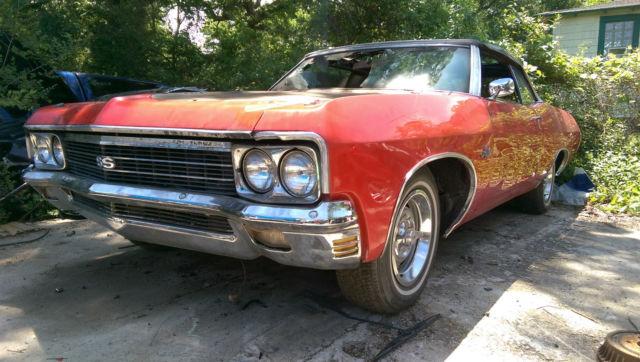 1970 Chevrolet Impala Convertible V8 Big Block 454 Ss