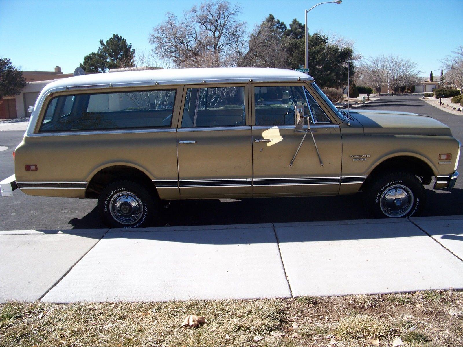 1970 Chevrolet K10 Suburban Classic Chevrolet Suburban