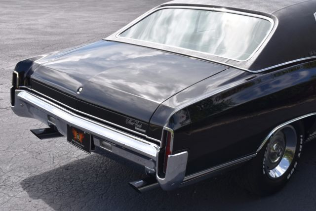 1970 Chevrolet Monte Carlo Real Ss454 Triple Black 0 Black