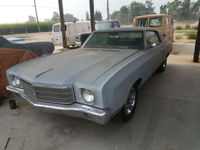 1970 Chevrolet Monte Carlo Not Ss Bench Seat 350 Auto