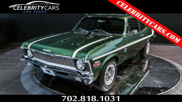 Chevrolet Nova Real Yenko Deuce Copo Lt Las Vegas on 350 Chevy Engine Code Numbers
