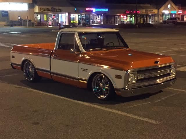 Chevy C Short Box Zl Big Block on Custom 1970 Chevy Pickup Truck