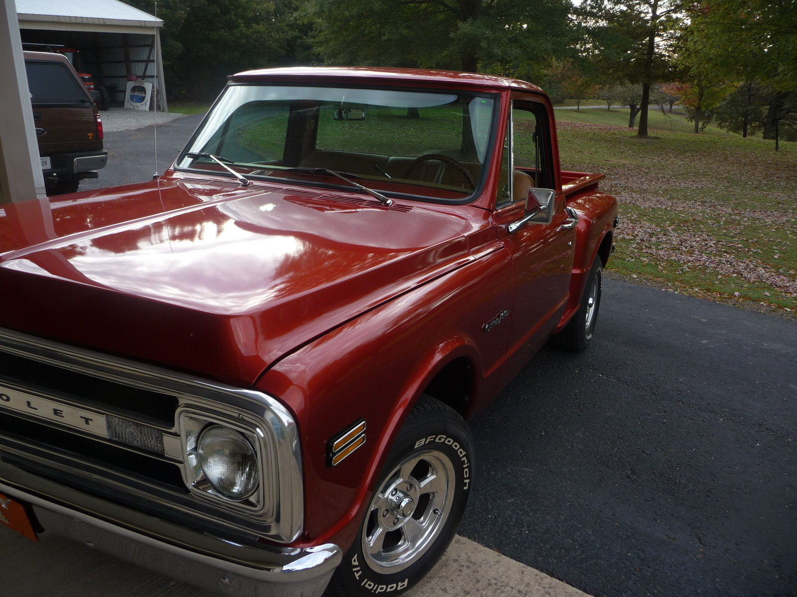 1970 Chevy C10 Stepside Pickup Classic Chevrolet C 10 1970 For Sale