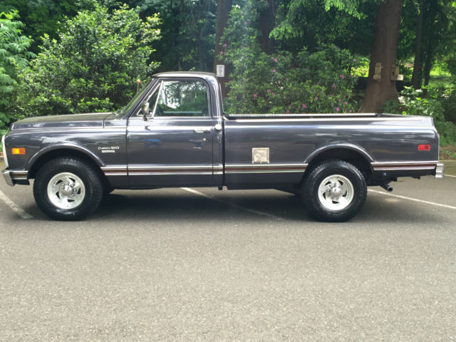 1970 Chevy C20 Custom Pickup 2wd Regular Cab 4Spd 350 V8 ...