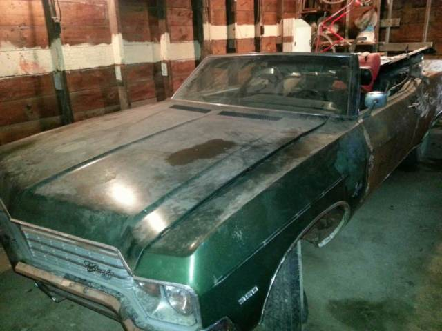 1970 chevy impala convertible project car clear title restore 1970 chevrolet impala prevnext sciox Images