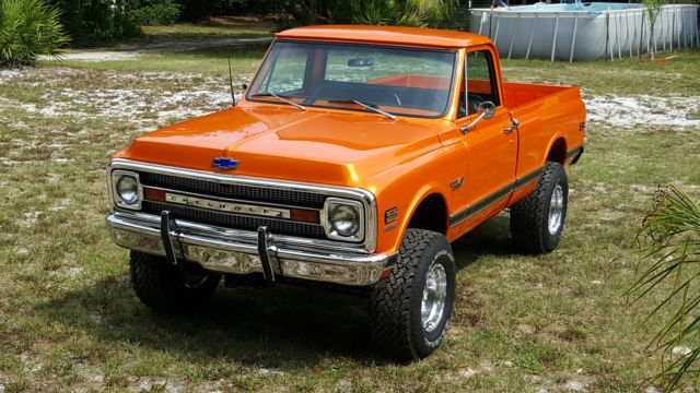 1970 Chevy Short Bed 4x4 Fresh Frame Off Restored Az Truck