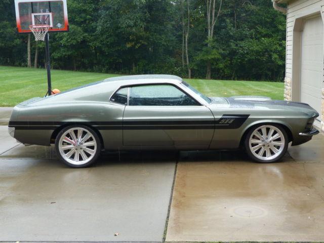 1970 Chip Foose Built Ford Mustang Gambler 514 Built On