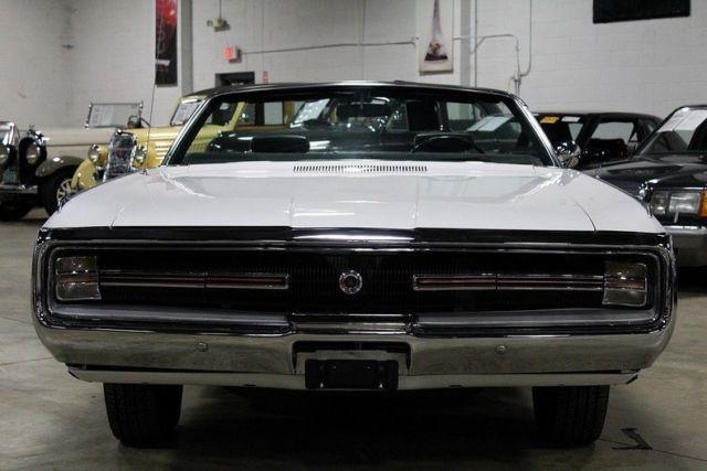 1970 Chrysler 300 Convertible For Sale: 1970 Chrysler 300 41920 Miles White Convertible 440ci V8 3