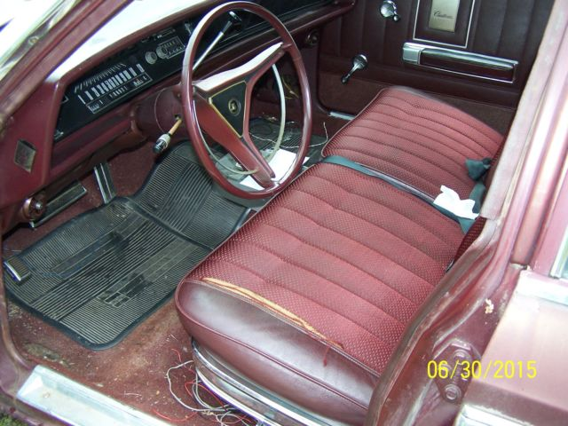 1970 Chrysler Newport 4dr sdn-low miles-runs great-solid ...