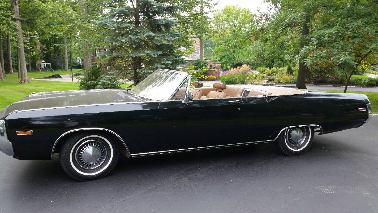 1970 Chrysler Newport Convertible – 3-speed manual column shift ...