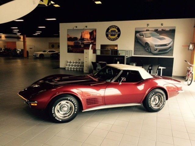 1970 corvette lt1 roadster ncrs top flight classic chevrolet corvette 1970 for sale. Black Bedroom Furniture Sets. Home Design Ideas