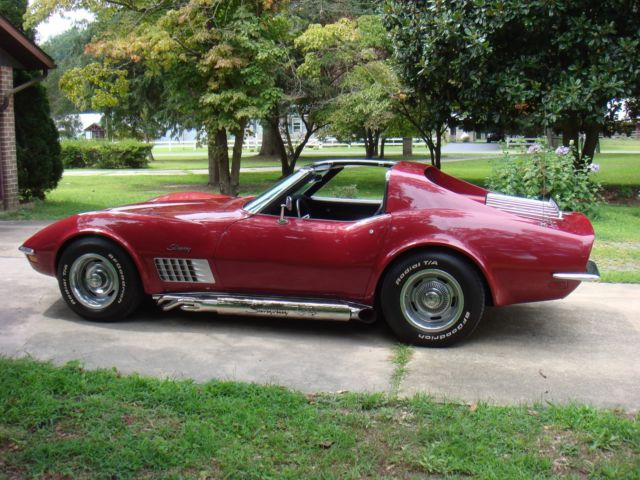 1970 corvette stingray original l46 350 350 classic chevrolet corvette 1970 for sale. Black Bedroom Furniture Sets. Home Design Ideas