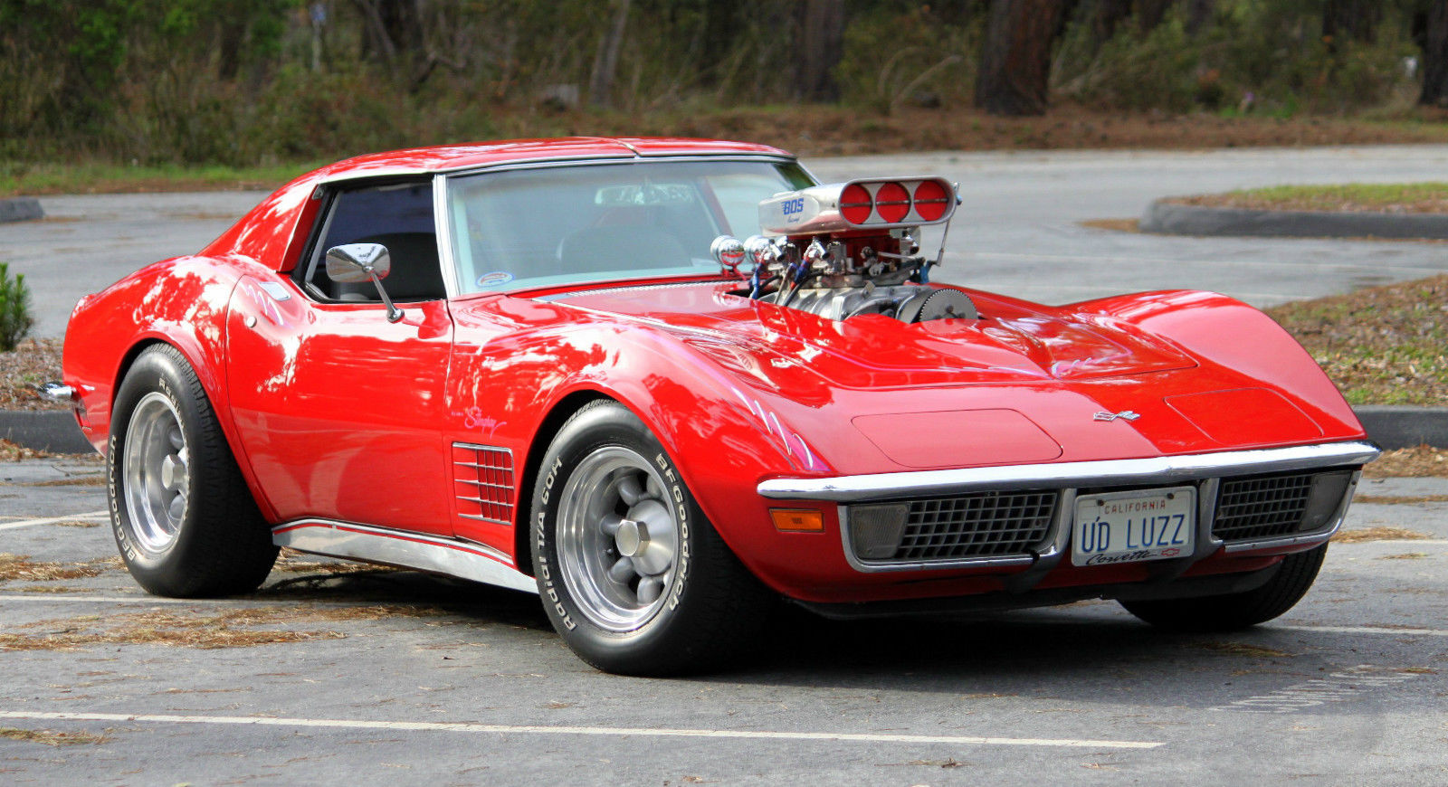 1970 Corvette Stingray With 6 71 Blower Classic