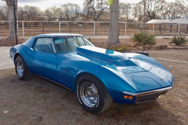 Used Cars Albuquerque >> 1970 corvette. T-tops. 427. Manual Transmission. Just ...