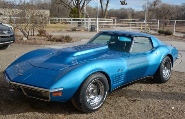 1970 Corvette For Sale >> 1970 corvette. T-tops. 427. Manual Transmission. Just ...