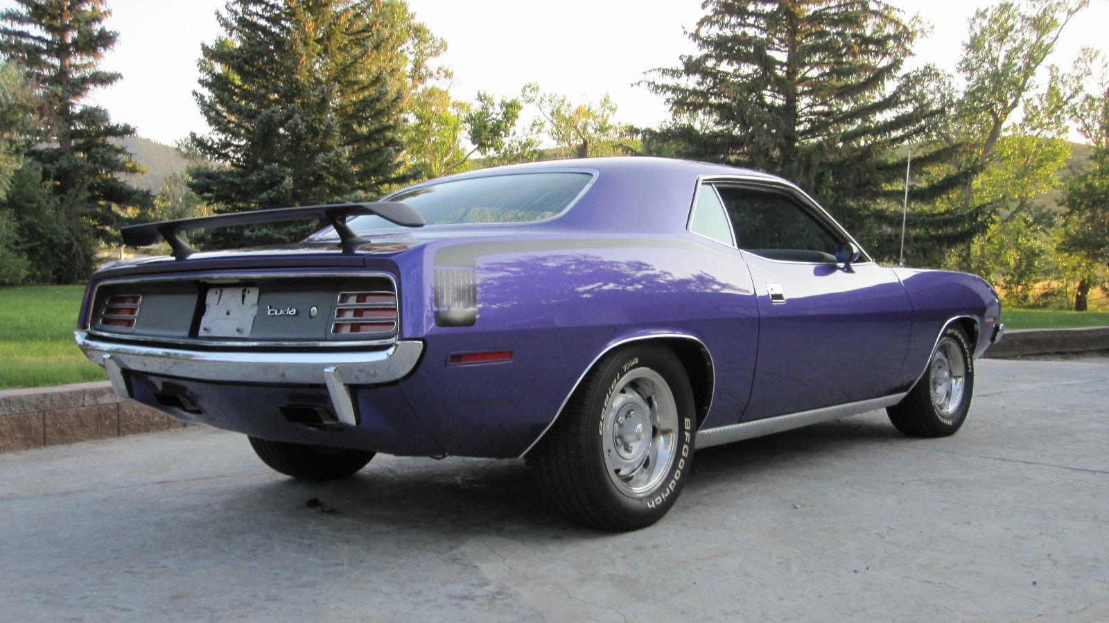 1970 Cuda 426 Hemi 4 Spd Dana 60 Tribute Plum Crazy Purple