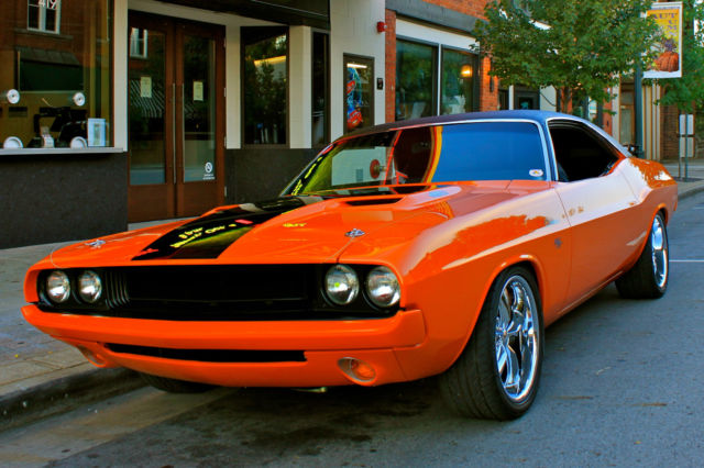 1970 Dodge Challenger Resto Mod Classic Dodge Challenger
