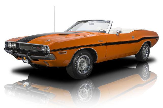 1970 dodge challenger r t 39399 miles go mango convertible 440 magnum v8 4 speed classic dodge. Black Bedroom Furniture Sets. Home Design Ideas