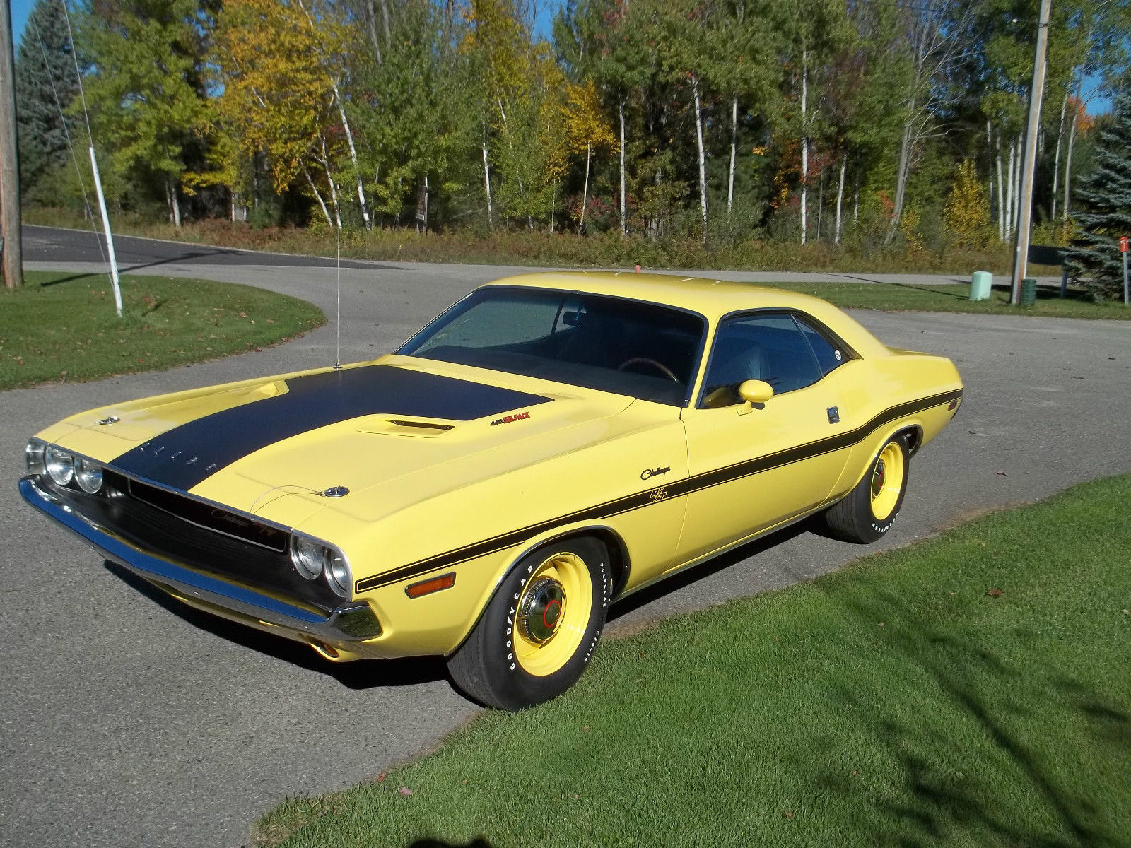 1970 Dodge Challenger R T 440 Six Pack V Code Watch