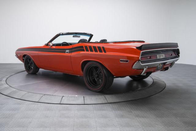 1970 dodge challenger r t 562 miles viper orange convertible 472 hemi v8 5 speed classic dodge. Black Bedroom Furniture Sets. Home Design Ideas