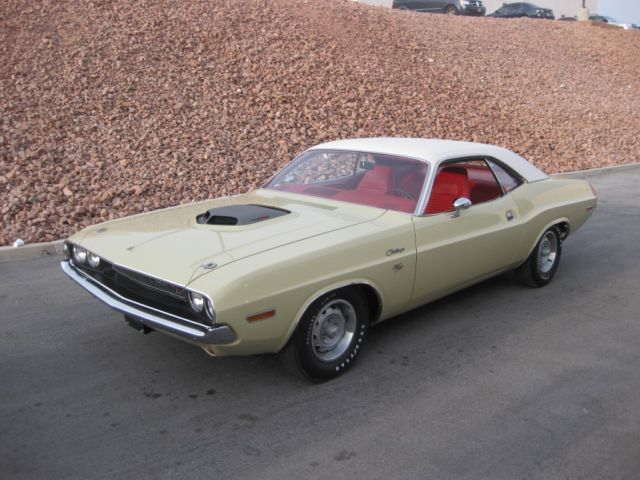 1970 Dodge Challenger R T Very Rare 1 Of 2 With 440 4bbl Factory N96 Shaker Hood Classic Dodge
