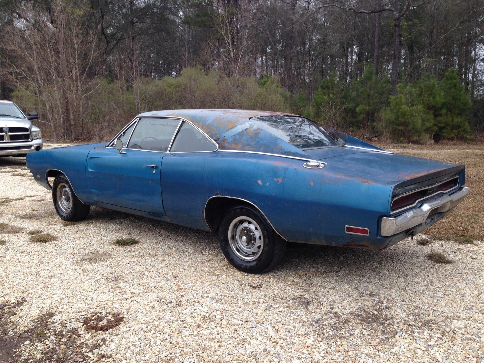 1970 Dodge Charger 500 318 Runs Drves Great Project Car