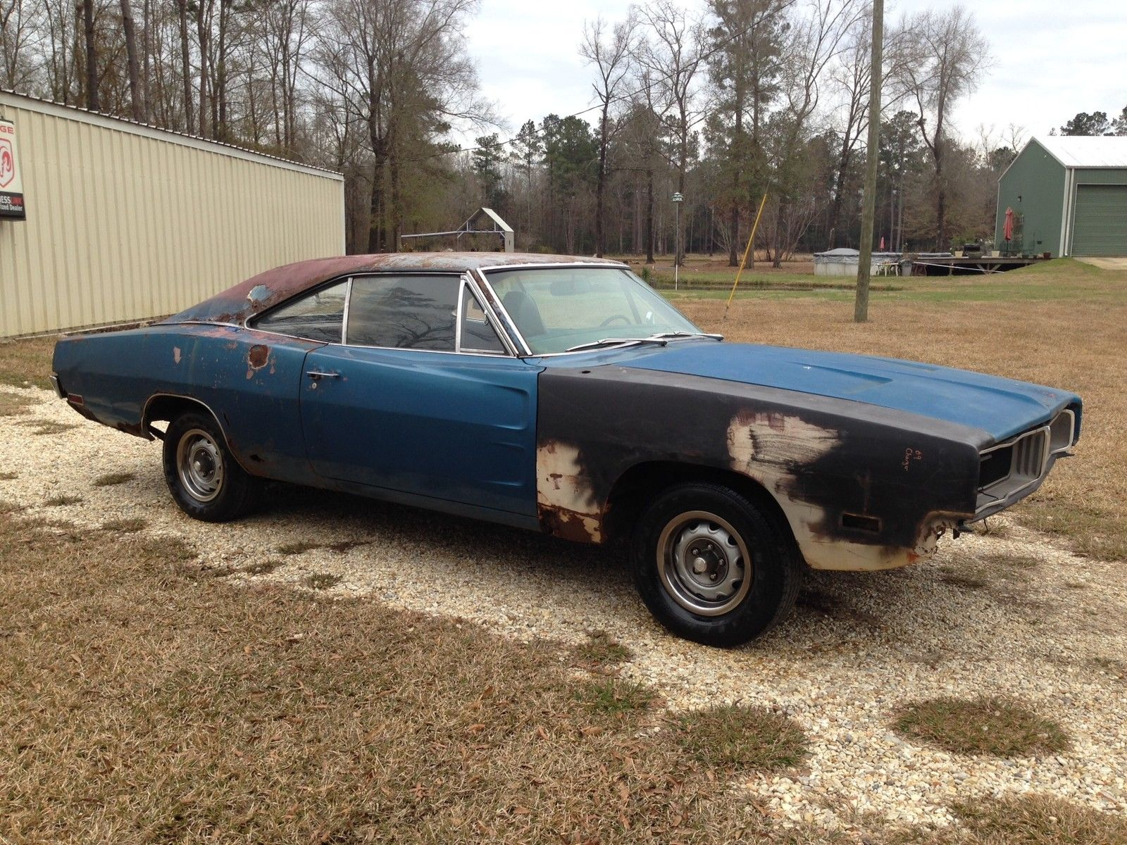 1970 Dodge Charger 500 318 Runs Drves Great Project Car ...