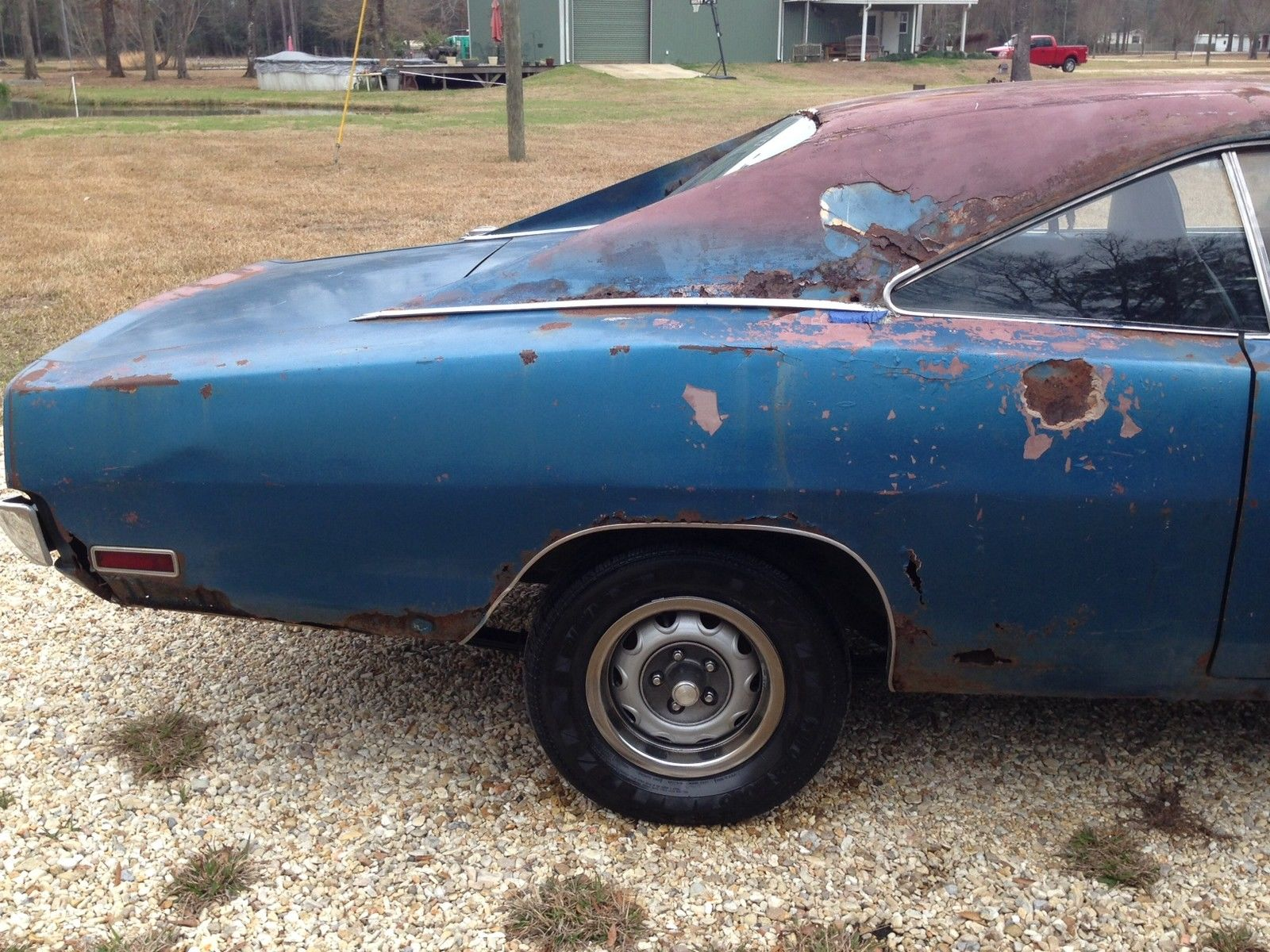 1970 Dodge Charger 500 318 Runs Drves Great Project Car 1969 Front 1968 Prevnext