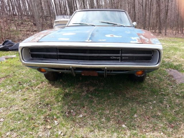 1970 Dodge Charger 500 Muscle Car Project Classic Dodge