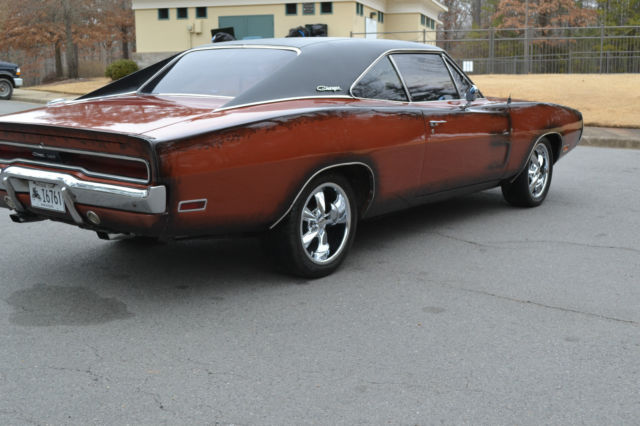1970 dodge charger burnt orange vintage air conditioning 1968 1969 classic dodge charger 1968. Black Bedroom Furniture Sets. Home Design Ideas
